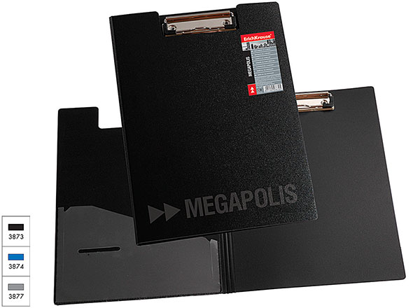 Папка-планшет с зажимом (А4), 3873